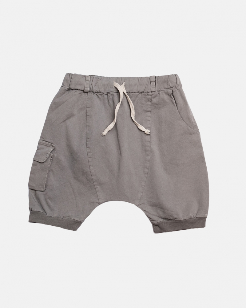 POCKET SHORTS szary