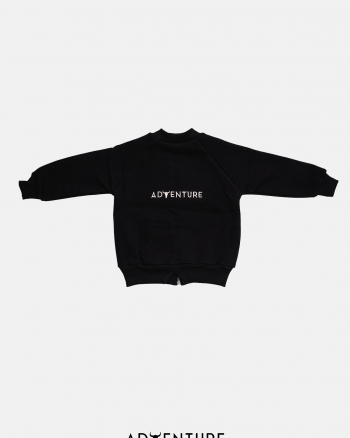Bomber sweatshirt/ czarny