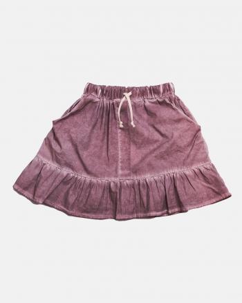 Frill skirt pink