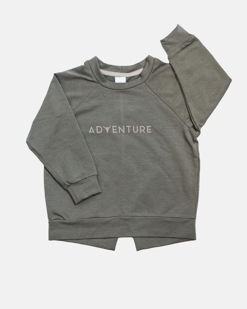 Club sweatshirt / zieleń