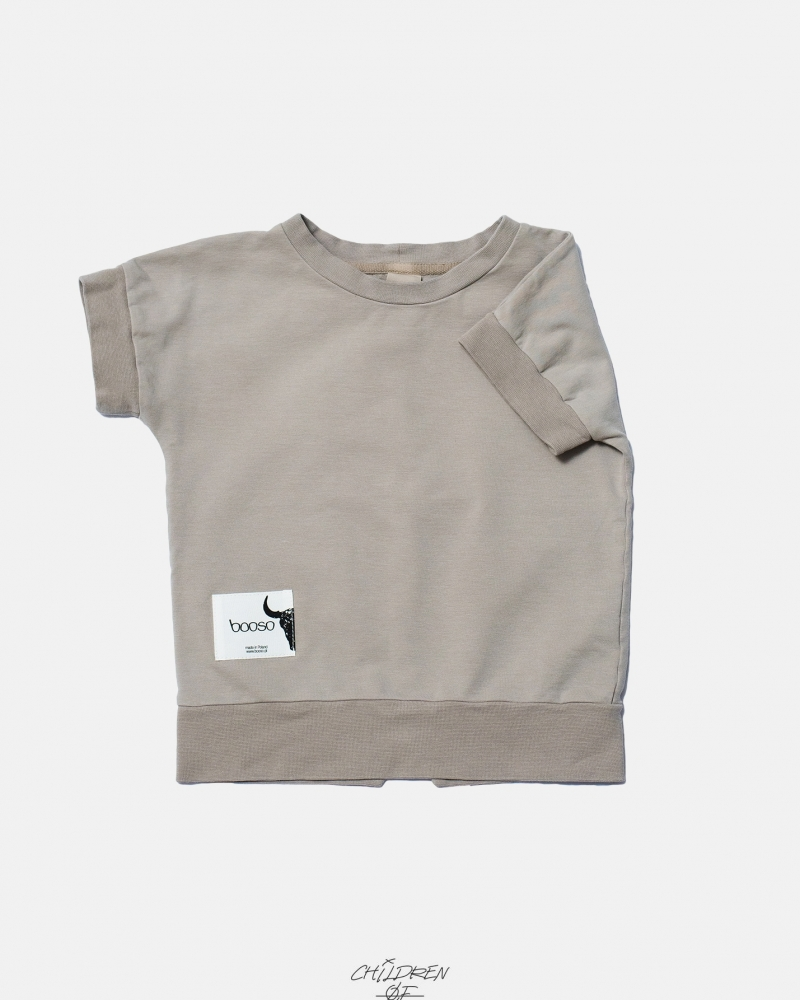 SHORT SWEATSHIRT BEIGE