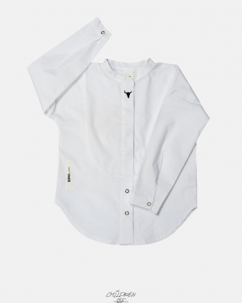 WHITE SHIRT biały