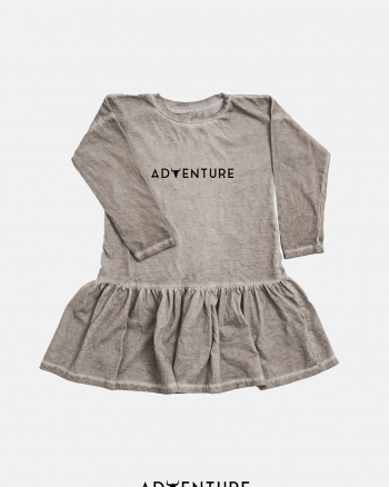 Adventure dress/ beż