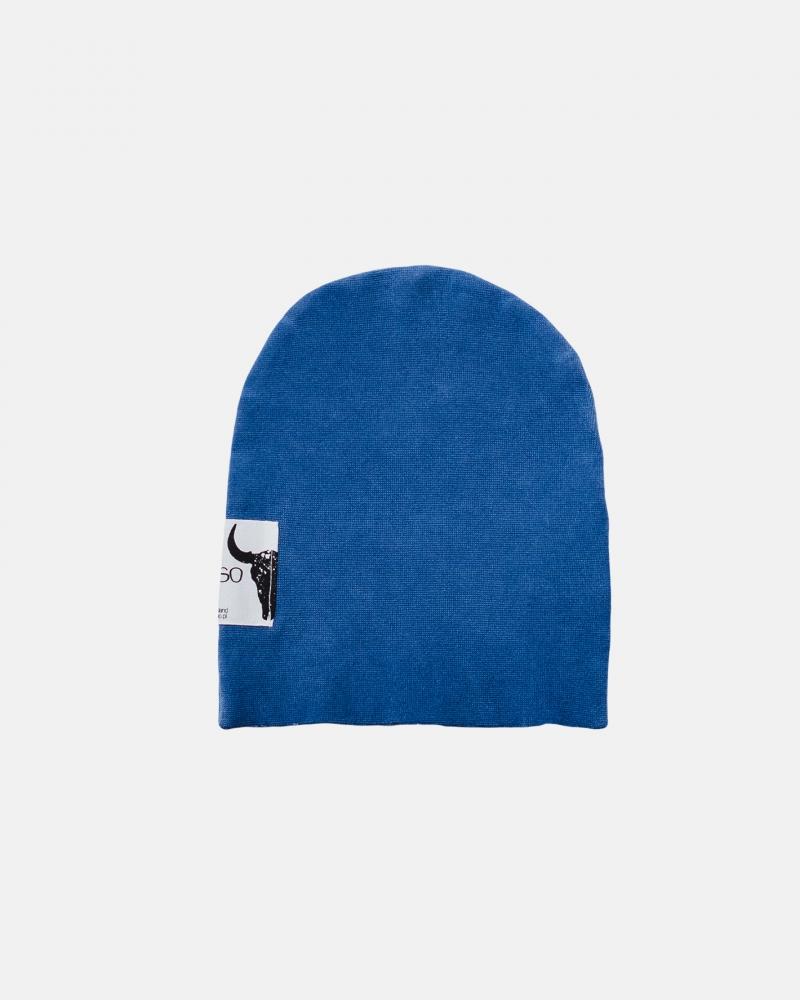 SAND BEANIE blue
