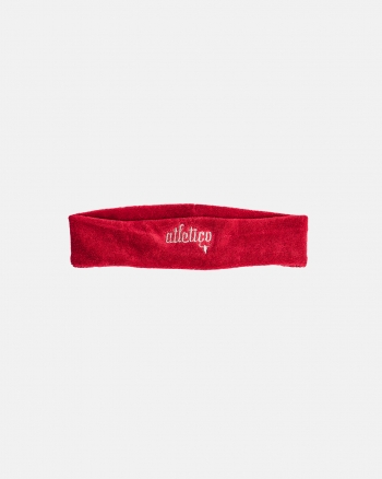 TERRY HEADBAND red
