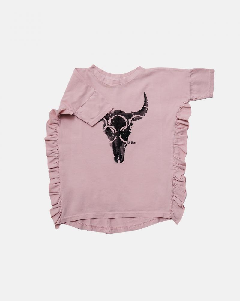 FRILL DRESS pink