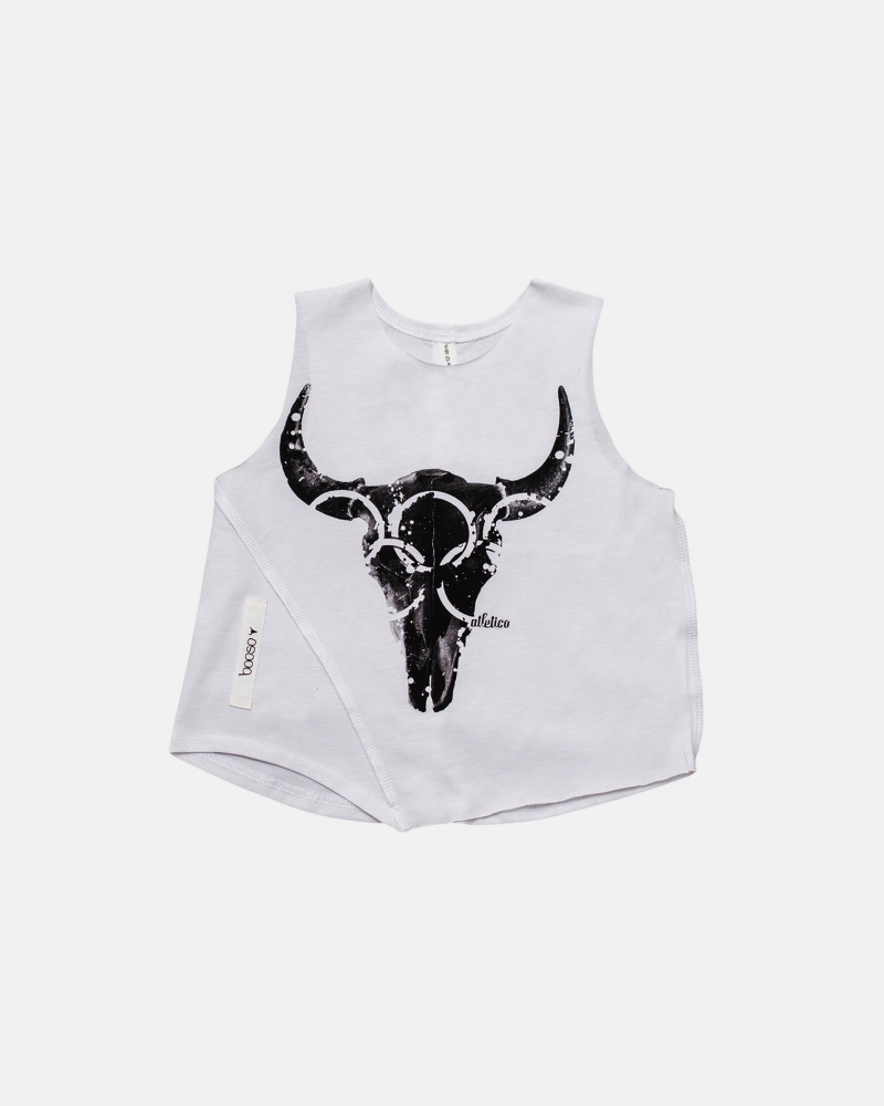BISON TOP white
