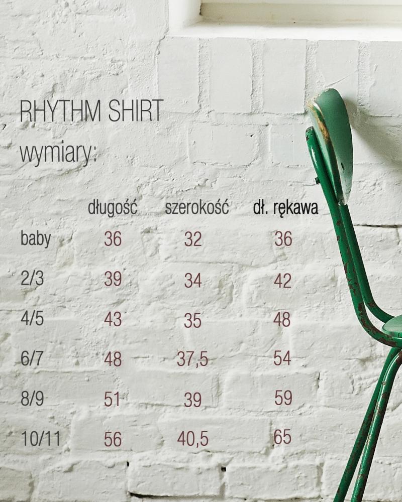RHYTHM SHIRT biały