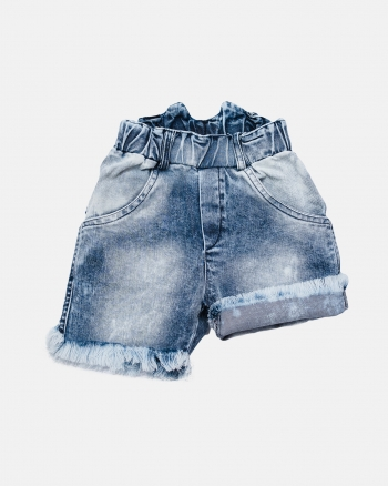 RAW JEANS SHORTS