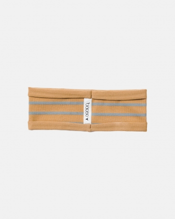 STRIPED HEADBAND blue/mustard