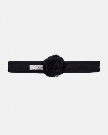 HEADBAND Pompon black