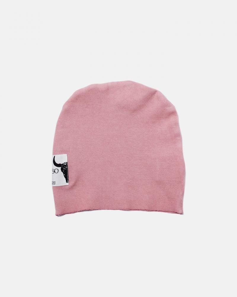 SAND BEANIE pink