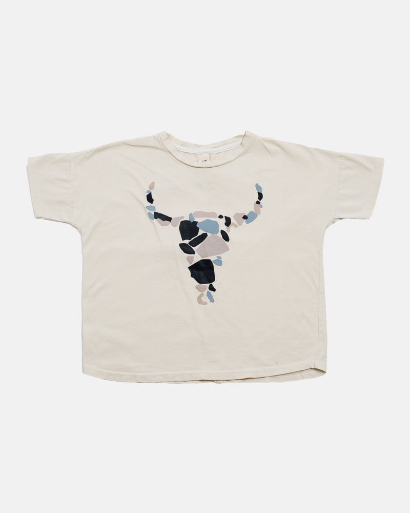 BISON WIDE TEE ecru