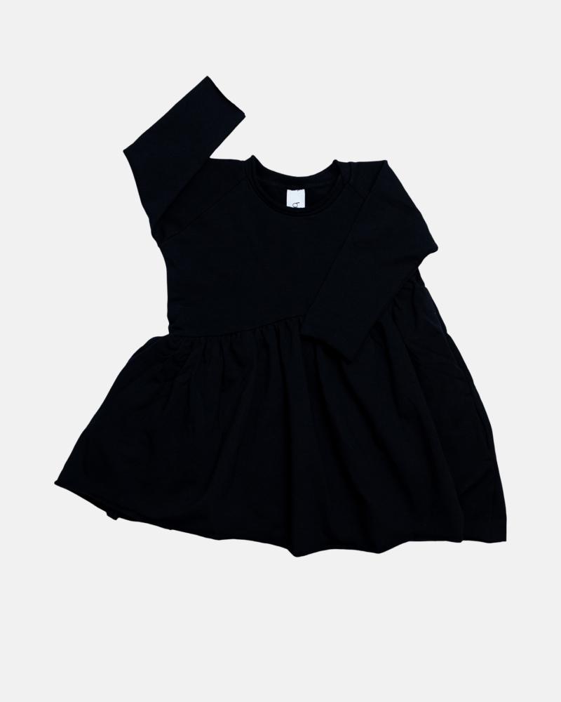 BEVEL DRESS black