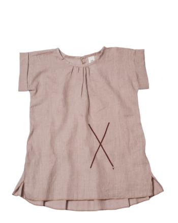 like  X DRESS jasny róż ( czerwony print)