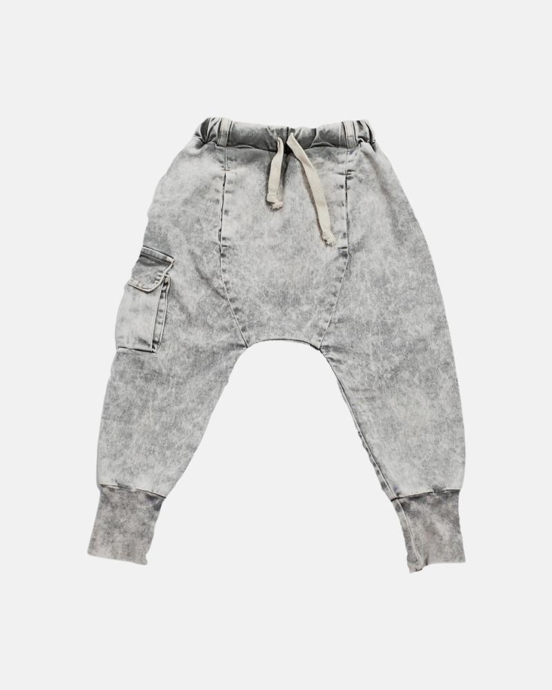 FRINGLE ACID PANTS gray