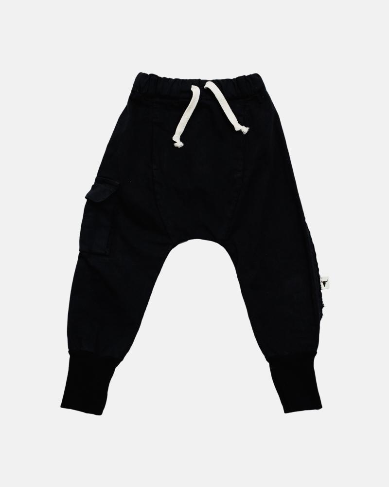 FRINGLE PANTS black