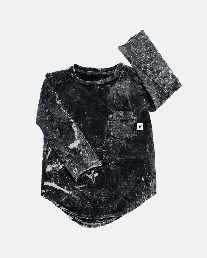 POCKET ACID LONGSLEEVE black