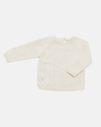 WOOL SWEATER ecru