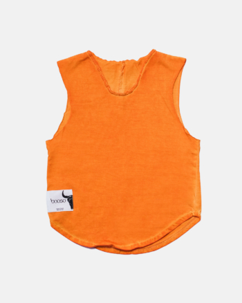 BASIC COLDDYE TOP orange