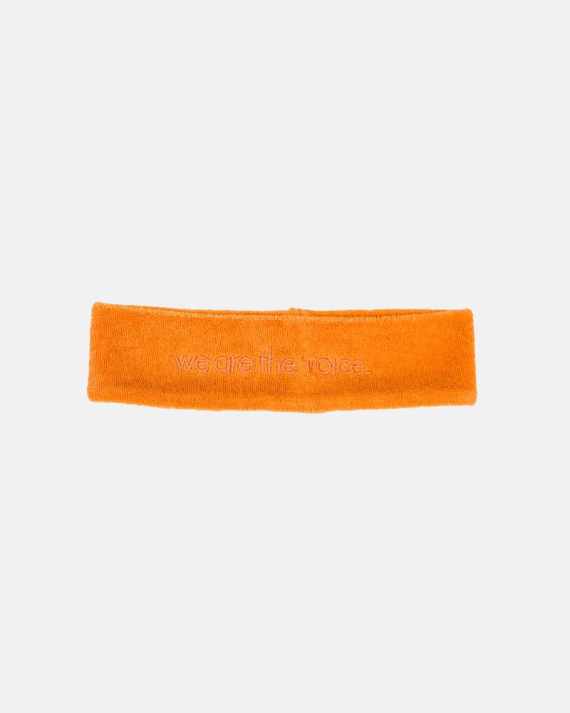 TERRY HEADBAND orange