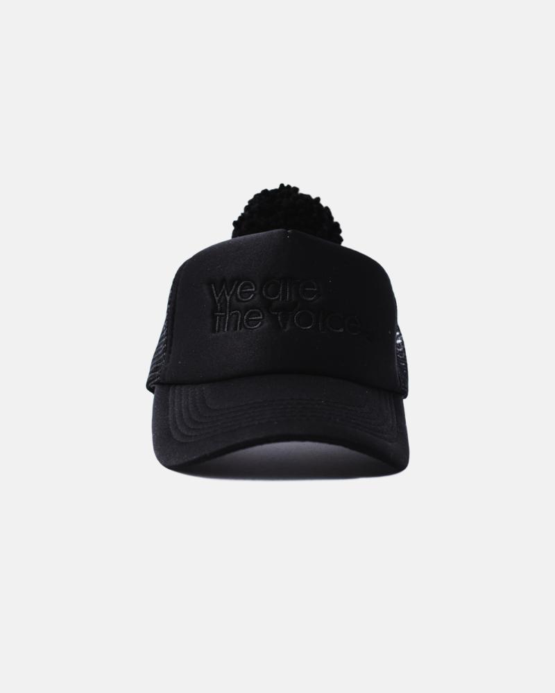 WE ARE CAP all black BIG