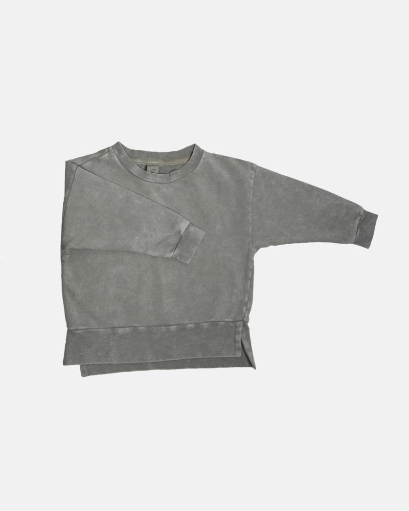SIMPLE ACID SWEATSHIRT gray