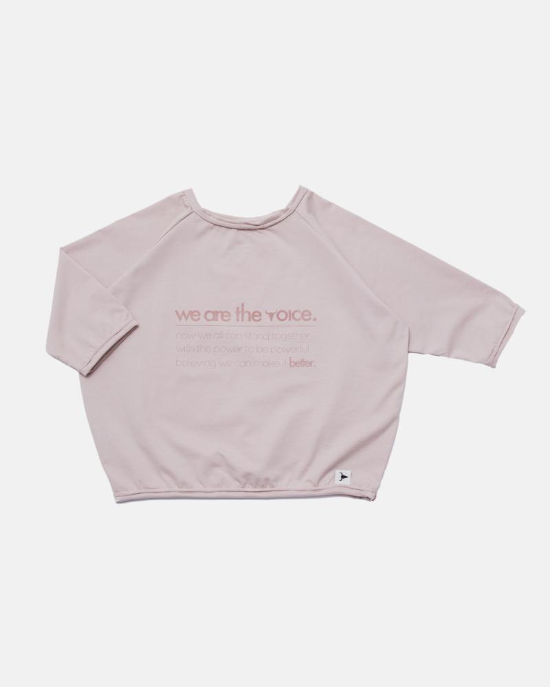LOOSE LONGSLEEVE dusty pink