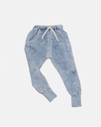 BISON ACID PANTS blue