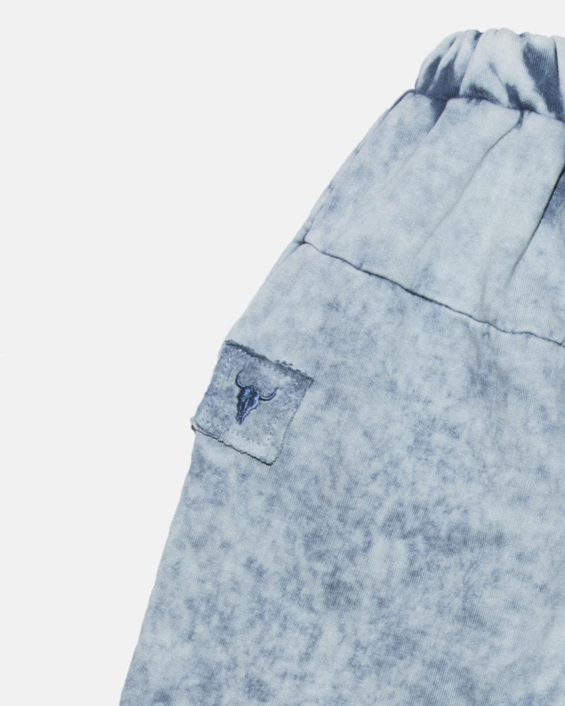 BISON ACID SHORTS blue