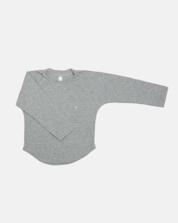 SIMPLE LONGSLEEVE gray