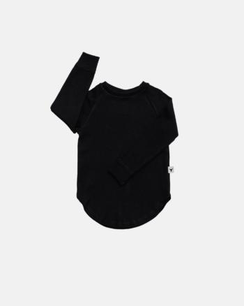 koszulka dziecięca- BASIC LONGSLEEVE black