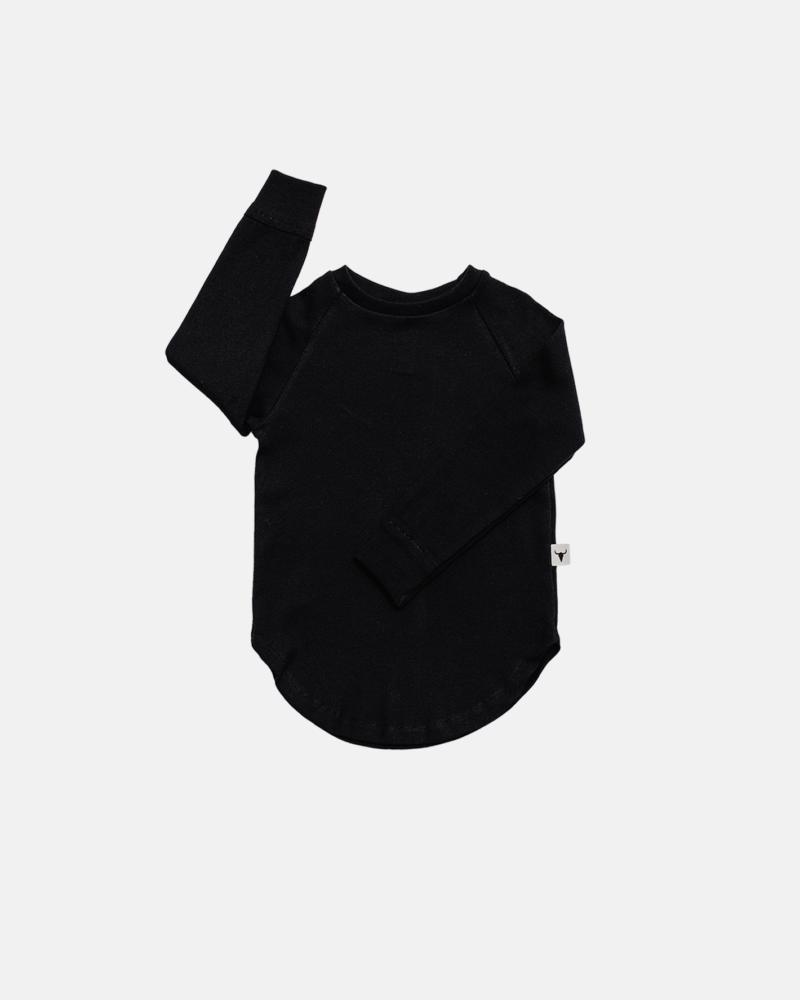 BASIC LONGSLEEVE black