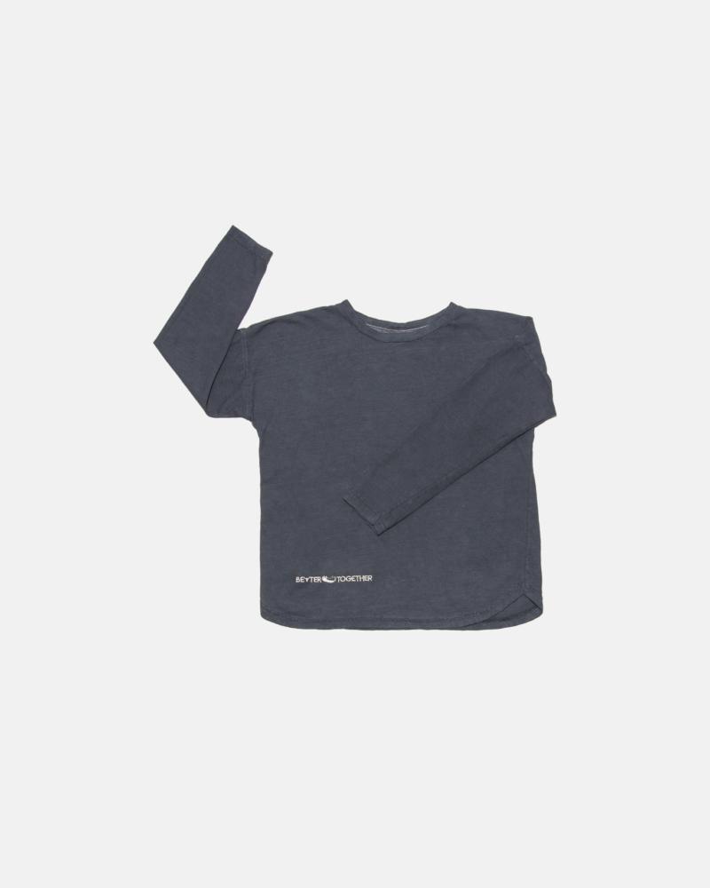 koszulka dziecięca – WIDE ACID LONGSLEEVE graphite