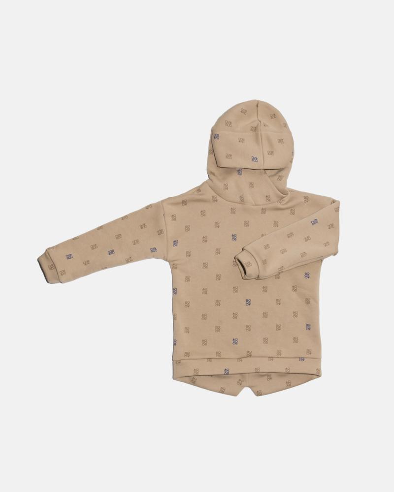 bluza dziecięca- SIMPLE BOOSO HOODIE camel