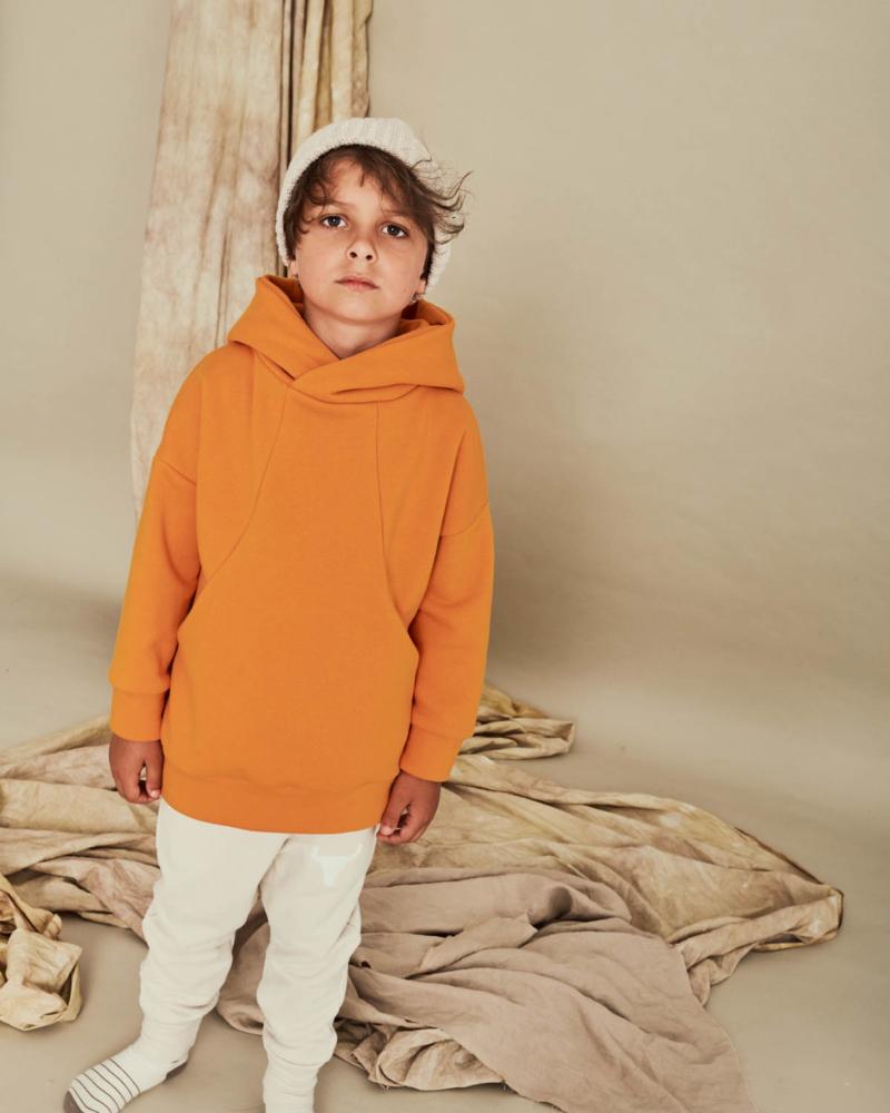 bluza dziecięca- POCKET HOODIE orange